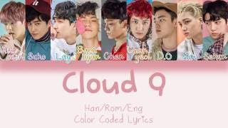 EXO - Cloud 9 (Korean Ver.) [HAN|ROM|ENG Color Coded Lyrics]