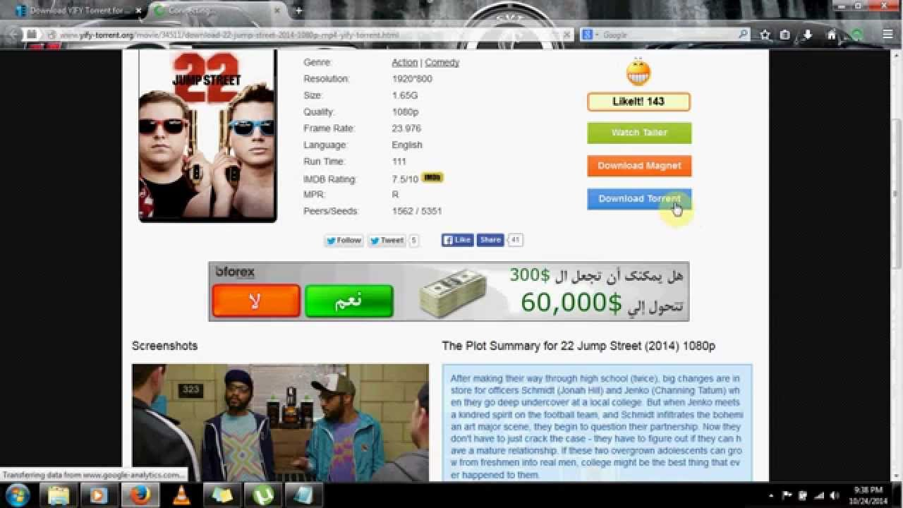how to download hollywood movies 720p/1080p - youtube