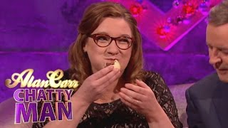 Alan & Sarah Take On Ginos Mince Pie Eating World Record - Alan Carr: Chatty Man YouTube Videos