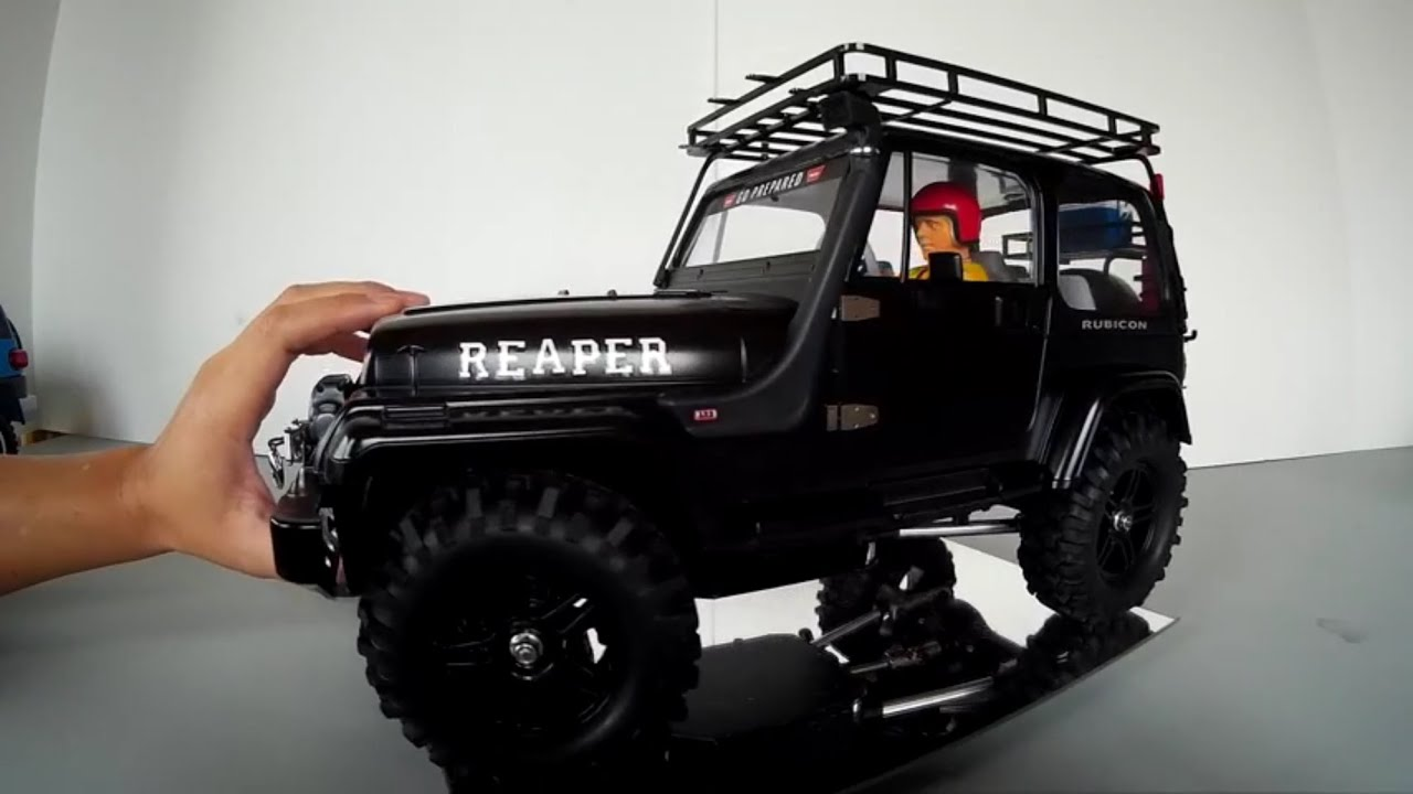 tamiya reaper jeep yj cc 01 project tybo 39 s rc motorsports pure rc 4x4 youtube. Black Bedroom Furniture Sets. Home Design Ideas