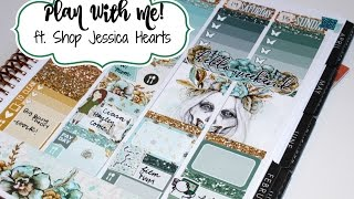 """Plan With Me! ft  Shop Jessica Hearts """"Butterfly Dreams"""""""