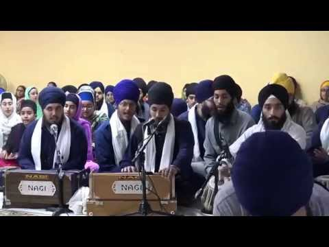Bhai Ramandeep Singh (Germany) - 2015 Annual Akhand Keertan New York Smagam -Raensabayee