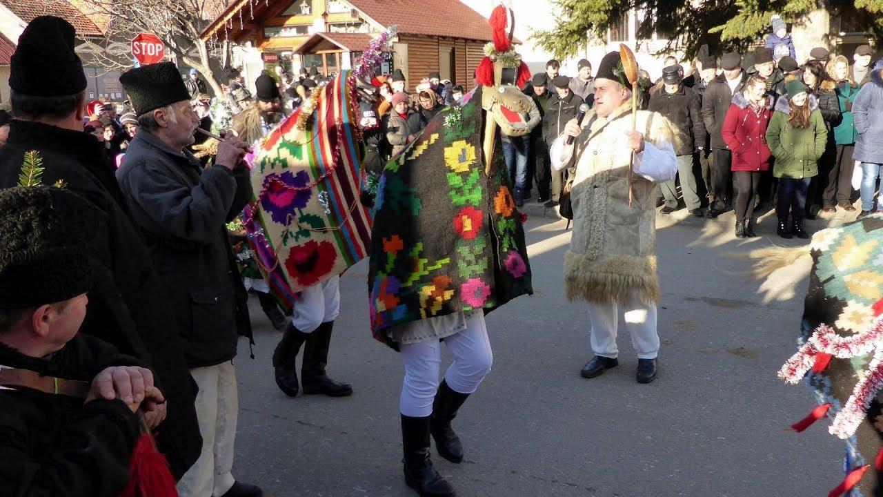 Tradiții de Anul Nou în comuna FRUMOSU - New Year's Traditions (Bucovina, Romania)