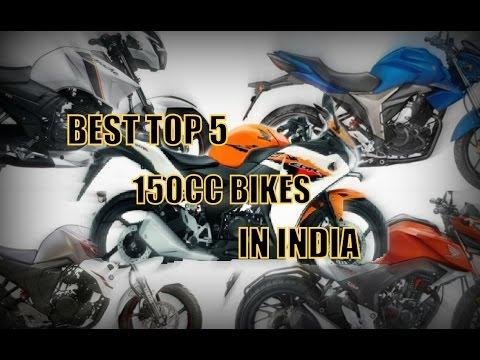 Top 5 Best 150cc Bikes in India 2017