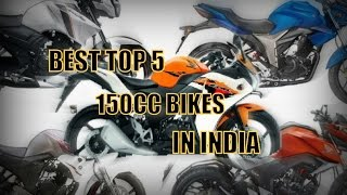 Top 5 Best 150cc Bikes in India 2017