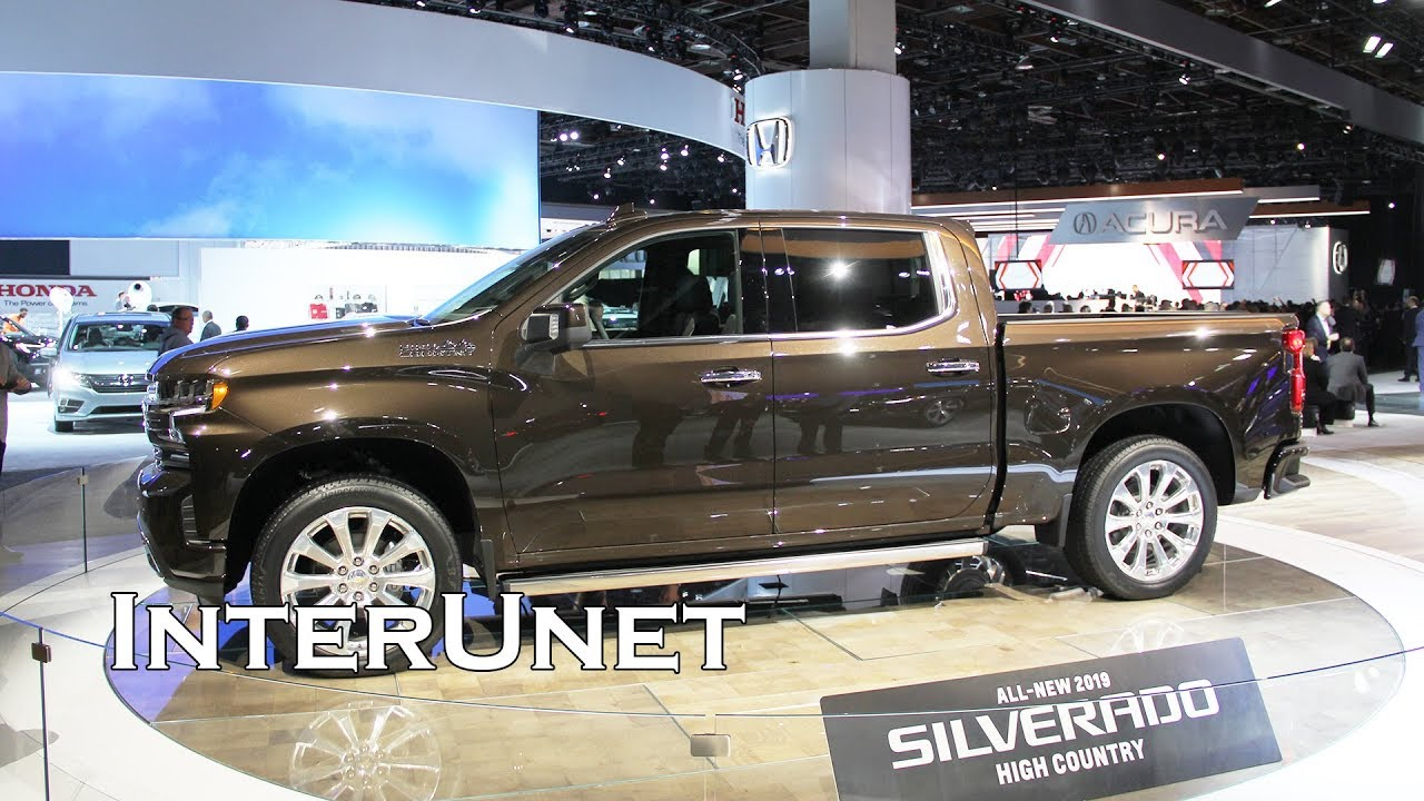 2019 Chevrolet Silverado High Country YouTube