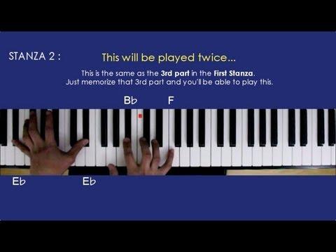 A THOUSAND YEARS New Version Piano Tutorial - Christina Perri ft. Steve Kazee