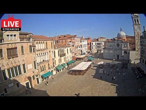 Venezia Italia Live Webcam - Campo Santa Maria Formosa Venice - Stream From Ruzzini Palace Hotel