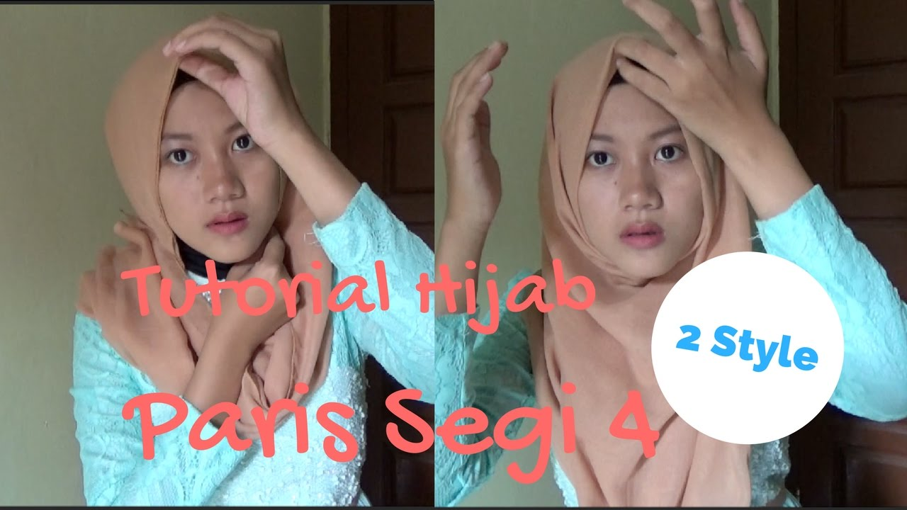 Tutorial Hijab Paris Segi Empat Simple 2 Style NMY Hijab