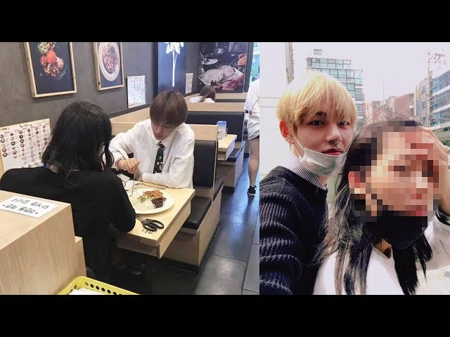 Speculation By Fans That BTS V Is Dating After Seeing This Photo