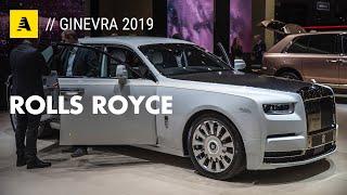 Rolls Royce al Salone di Ginevra 2019   Ultra lusso che si ammira a distanza