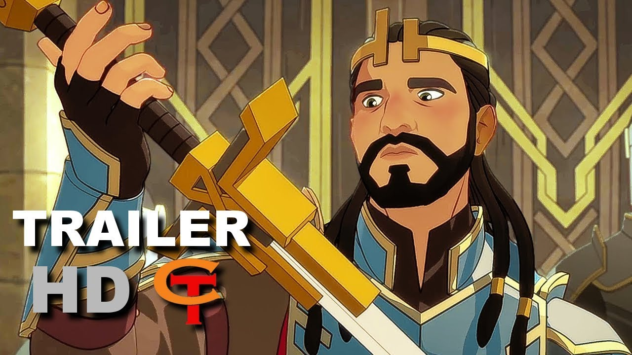 Download THE DRAGON PRINCE Trailer Animation (2018) TV show, Series Netflix