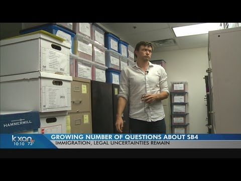 Advocacy Groups, Legal Clinics see rise in questions related to SB 4