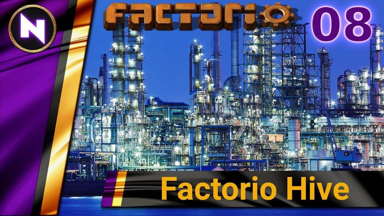 Factorio Hive #8 POWER