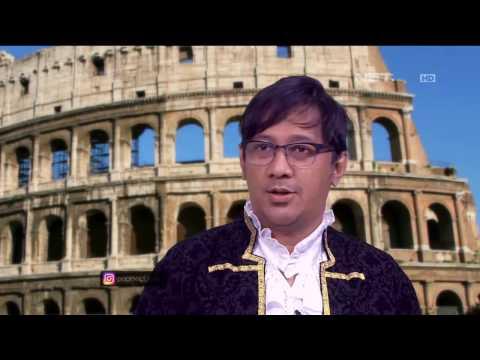 Jalan-jalan ke Italia, Andre Hesti Coba Ngomong Pakai Logat Italia