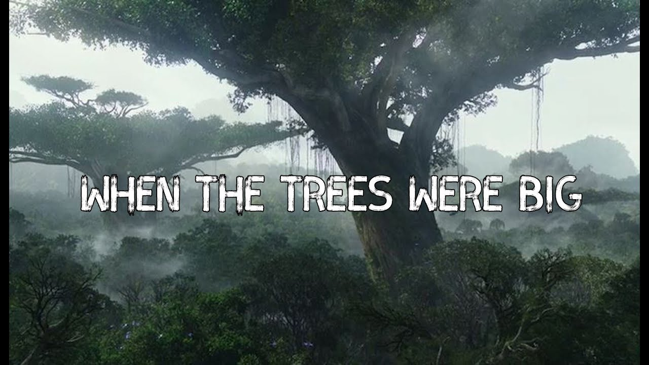 - WHEN THE TREES WERE BIG -