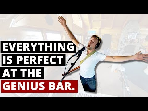 Everything is perfect at the Genius Bar 360 Music  w Spatial Audio