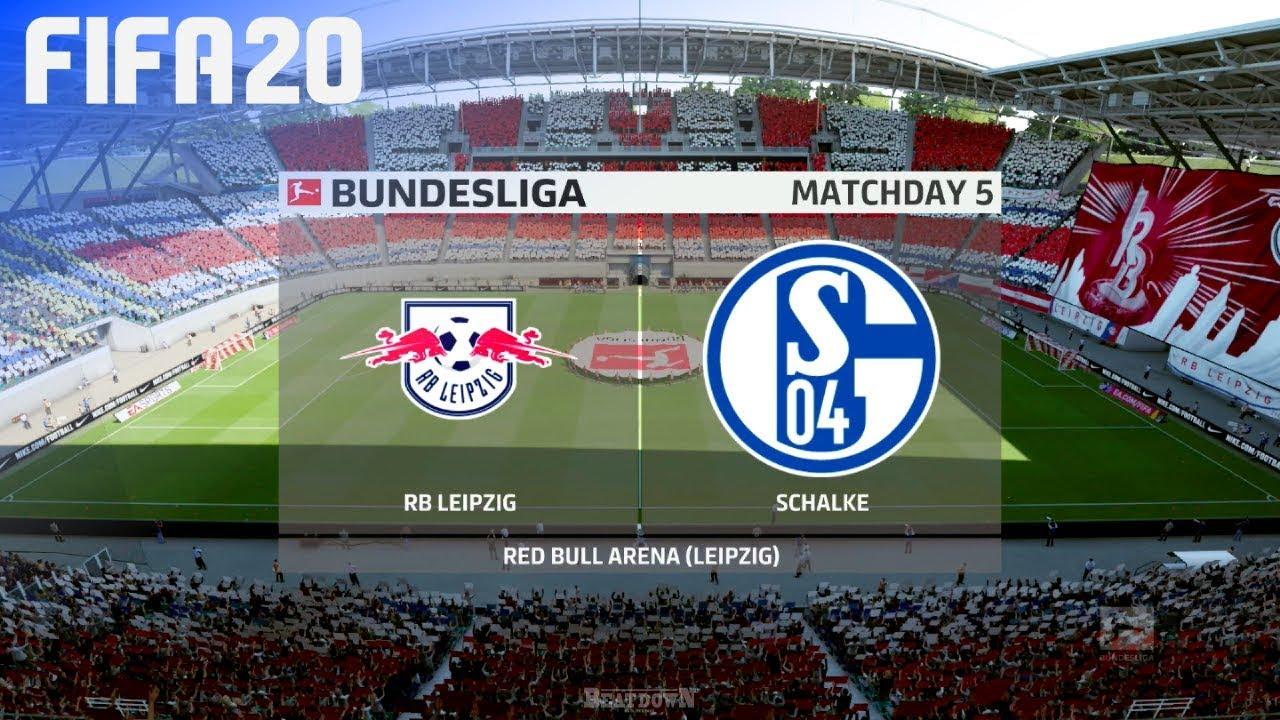 Fifa 20 Rb Leipzig Vs Fc Schalke 04 Red Bull Arena Youtube