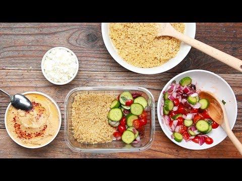 30-Minute Mediterranean Meal Prep