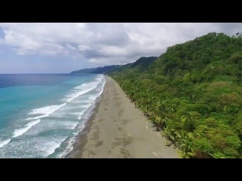 Aerial drone footage / Costa Rica, Carate