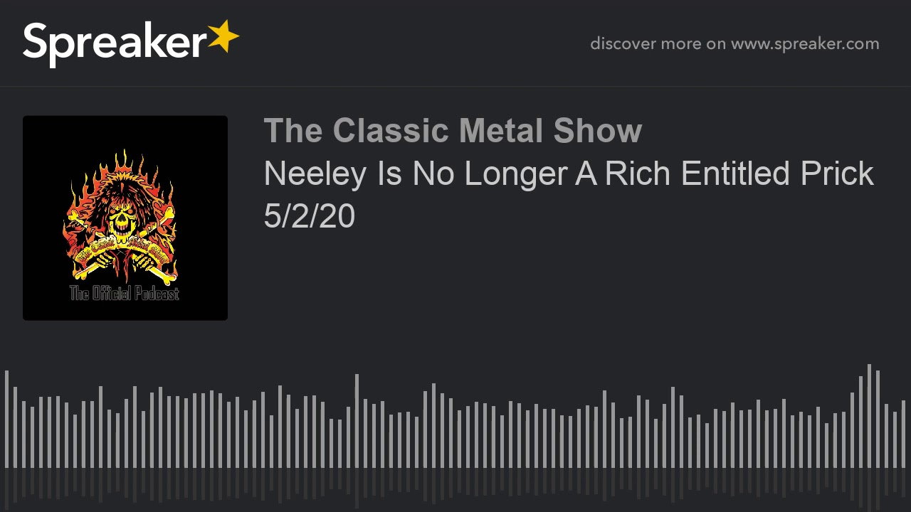 CMS HIGHLIGHT - Neeley Is No Longer A Rich Entitled Prick - 5 2 20