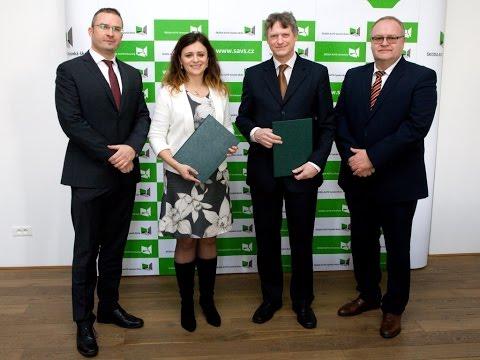 Inovační centrum a Škoda Auto VŠ podepsali smlouvu o spolupráci
