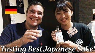 ドイツ人泥酔?店員さんが可愛い!日本酒居酒屋!German got drunk with Japanese Sake!