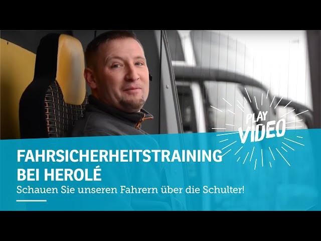Fahrsicherheitstraining - HEROLÉ Reisen