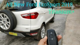 All new Ford EcoSport titanium plus 2018 | New Ford EcoSport titanium+ | Ford EcoSport 2018