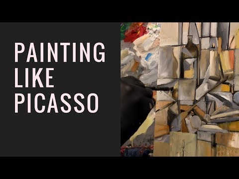 Painting Like Picasso (Cubism)