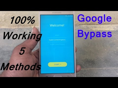 Bypass Google Account Verification  SAMSUNG in this 5 method