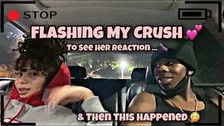Flashing My CRUSH 💕 To See Her Reaction 🍆 *EPIC Reaction* & Then This HAPPENED 😳