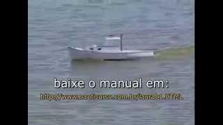 NAUTIMODELISMO, COMO CONSTRUIR UM BARCO R/C YATE LAURA B, MODELISMO NAVAL