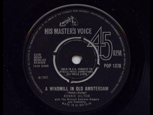 A Windmill In Old Amsterdam - Ronnie Hilton | Shazam