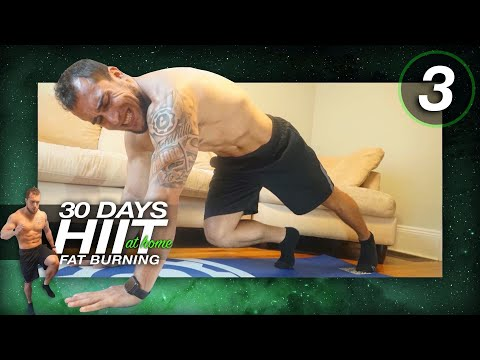 Day 3 of 30 Days of Fat Burning HIIT Cardio Workouts At Home