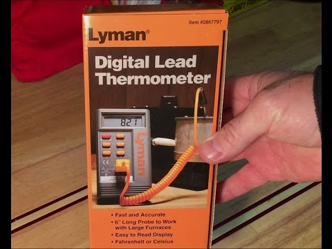 Reloading Tools: New Lyman Digital Lead Thermometer & Lee Furnace