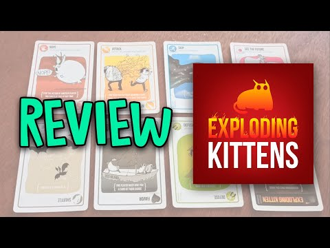 Exploding Kittens And Exploding Kittens Nsfw Deck From Exploding Kittens Youtube
