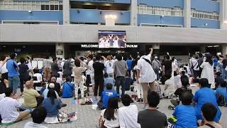 井口資仁選手9回同点ホームラン パブリックビューイング広場での歓喜をお伝えします。 井口資仁 検索動画 20