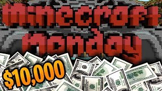 Minecraft Monday $10000 Hunger Games Solo Hero