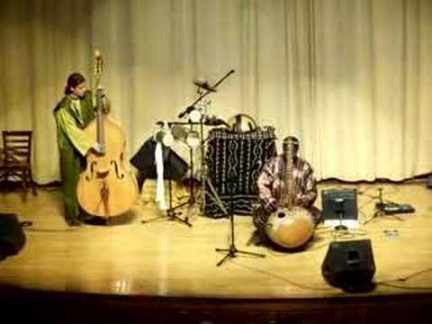 Malian Kora Musician Mamadou Diabate's Ensemble-I