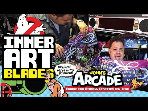 Ghostbusters Pinball Inner Art Blades Install Sucks! New Stern How To and Review. Is it worth $75?