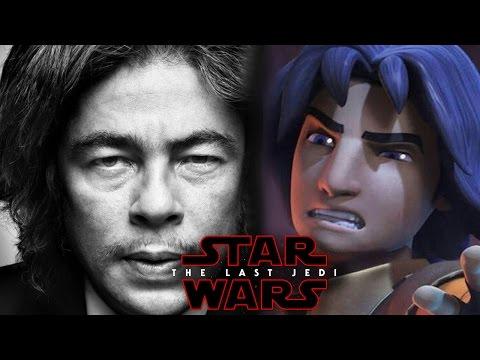 Star Wars Episode 8 The Last Jedi Man In Black Ezra Bridger (Benicio Del Toro)