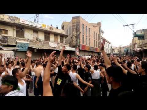 Dasta e Hussaini Nasirabad - Ashura 2015 - 16  Quetta
