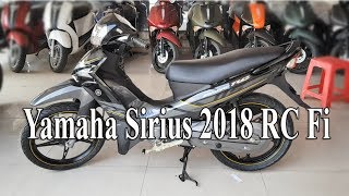 Video Yamaha Sirius 110 RC Fi version 2018 black color download MP3, 3GP, MP4, WEBM, AVI, FLV September 2018
