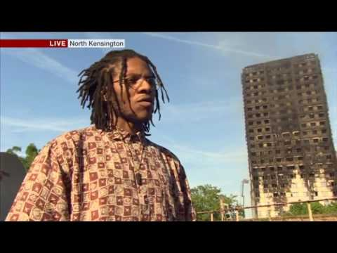 Grenfell Tower Fire: BBC London News Evening Bulletin 14.6.2017