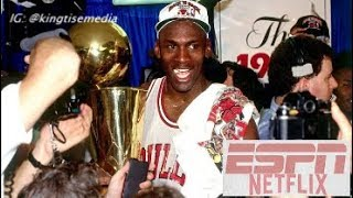 ESPN & Netflix Partner To Release Michael Jordan Documentary 'The Last Dance' 10 Part Series