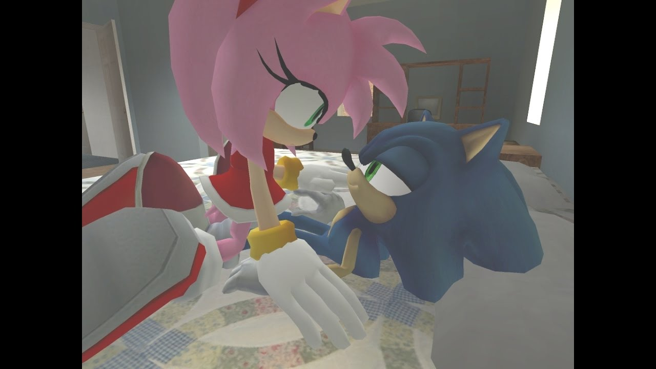 amy rose in love with knuckles!! sonic comic dub animation compilation - 1280×720