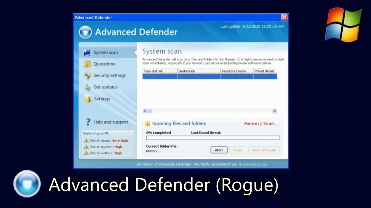 Advanced Defender (Rogue)