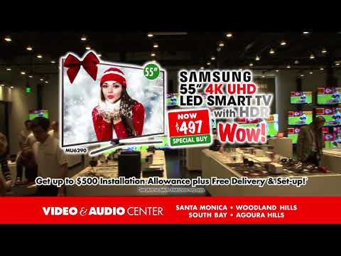 Holiday Savings Time with Direct Factory Deals at Video & Audio Center!