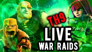 Live War Raid #129 | HGHB + News | Clash of Clans